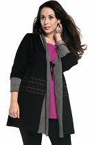 wool cardigan 16323 from Chalou
