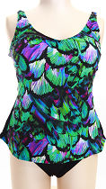 plus-size fashion: tankini 22684 from BELLONDA