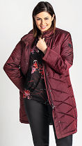 bigsize fashion: winter jacket 22766 from KjBrand