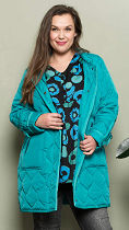 full figured fashion: winter jacket 23495 from Chalou
